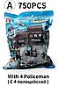 Лего, Конструктор полицейский участок 785шт! LEGO, фото 4