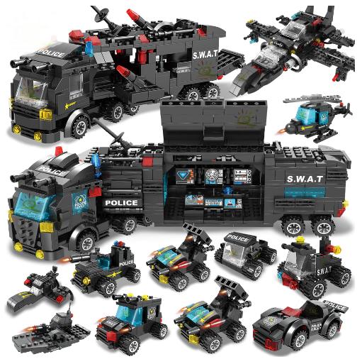 Лего, Конструктор полицейский участок 785шт! LEGO