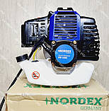 Бензокоса Nordex ND 4500 в комплекті з культиватором, фото 2