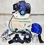 Бензокоса Nordex ND 4500 в комплекті з культиватором, фото 3