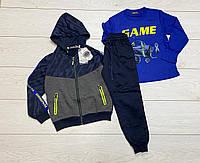 Спортивный костюм-тройка для мальчиков S&D 134/140 р.р.