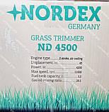 Коса бензиновая Nordex ND 4500 в комплекте с культиватором, фото 8