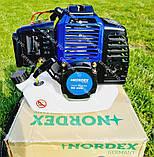 Коса бензиновая Nordex ND 4500 в комплекте с культиватором, фото 7
