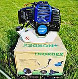 Коса бензиновая Nordex ND 4500 в комплекте с культиватором, фото 3