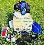 Коса бензиновая Nordex ND 4500 в комплекте с культиватором, фото 2