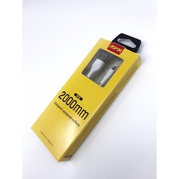 USB кабель Aspor - AC-02L Lighting