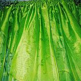 """Занавеска яркая в вензеля """"Марианна"""" в салатовом цвете, фото 9"""