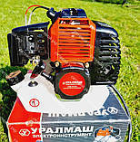 Мотокоса бензинова Уралмаш МКЛ 4300 в комплекті з культиватором, фото 2