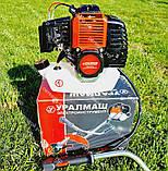 Мотокоса бензинова Уралмаш МКЛ 4300 в комплекті з культиватором, фото 3