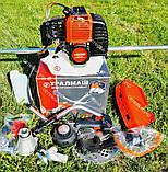 Мотокоса бензинова Уралмаш МКЛ 4300 в комплекті з культиватором, фото 7