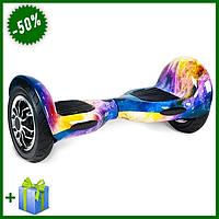 """Гироскутер Smart Balance колеса 8 дюймов """"Галактика"""", смарт гироборд для взрослых и детей"""