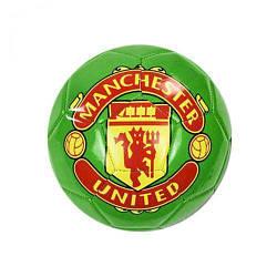 """Мяч футбольный (подойдет для детей и подростков) """"МЮ"""" размер 5 (зеленый)"""