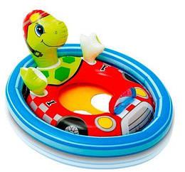 """Надувной круг-плотик детский для плавания """"Черепаха"""""""
