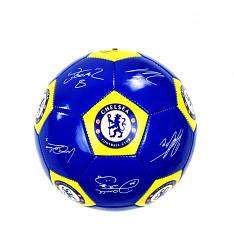 """Мяч футбольный (подойдет для детей и подростков) """"Челси"""", размер №5 (синий)"""
