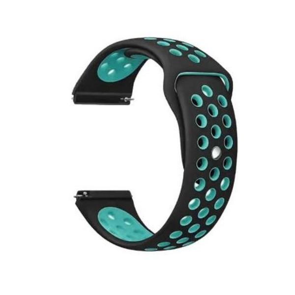 Ремінь для LG Watch Sport W280A BeCover Nike Style Black-Blue (705710)