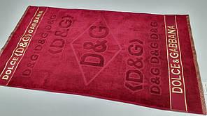 Полотенце махровое  Дольче  Бордо (Лицо 50*90см)