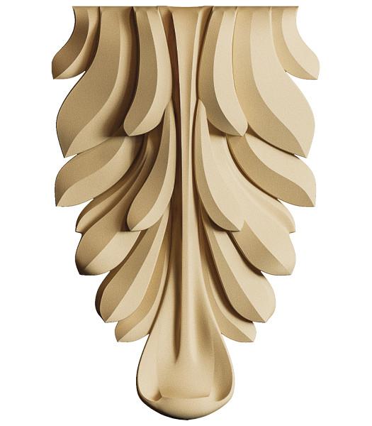 Декор для мебели - декоративный элемент Carving Decor KR 04