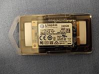 НОВИЙ SSD mSATA Kingston SUV500MS/240G 240Gb, 3D TLC 64-шарова пам'ять
