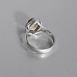 Срібне кільце з цитрином, 1701КЦ, фото 3