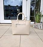 Стильна жіноча сумка італія натуральна шкіра, фото 4