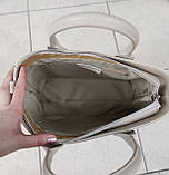 Стильна жіноча сумка італія натуральна шкіра, фото 9