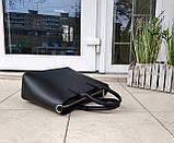 Стильная женская сумка италия натуральная кожа, фото 6
