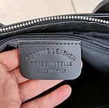 Стильная женская сумка италия натуральная кожа, фото 9