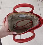 Стильная женская сумка италия натуральная кожа, фото 8