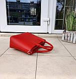 Стильна жіноча сумка італія натуральна шкіра, фото 6