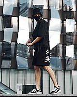 Мужские модные шорты крипто размеры: S, M, L, XL будь как ninja