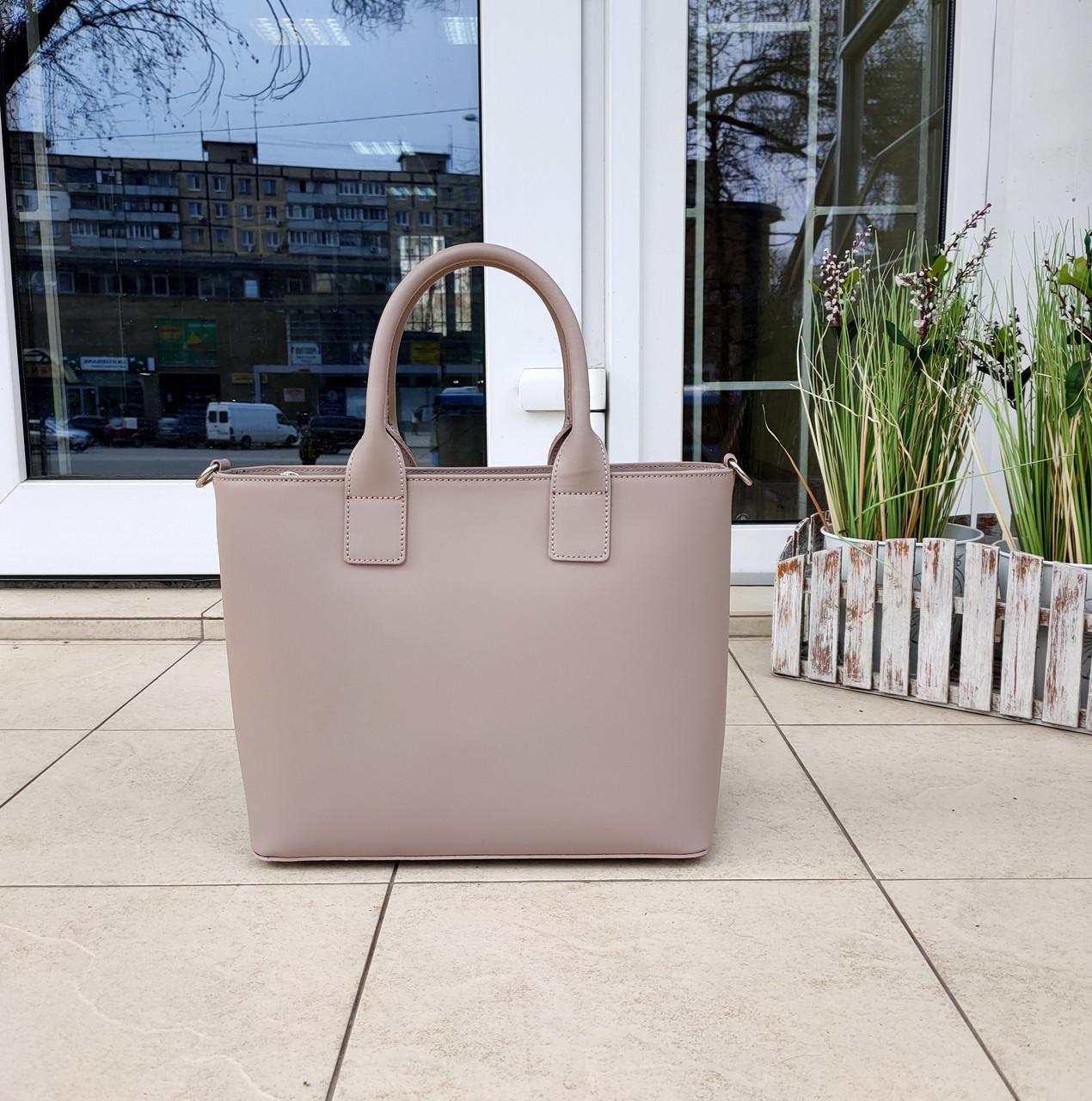 Стильна жіноча сумка італія натуральна шкіра