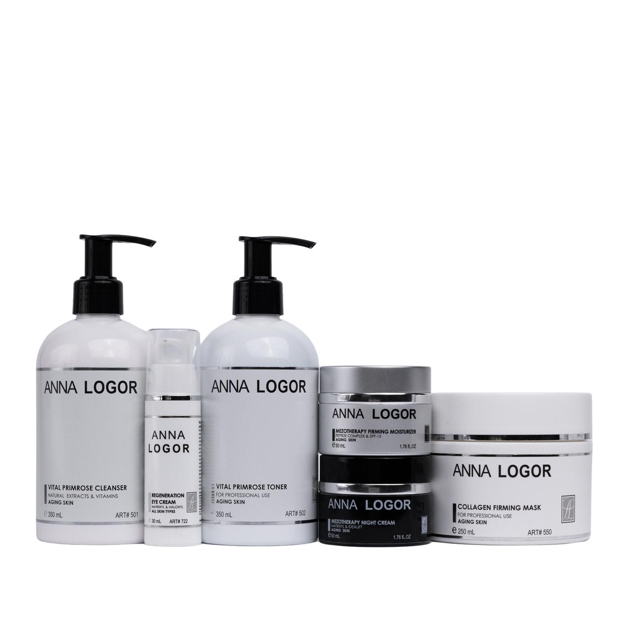Омолоджуюча серія ANNA LOGOR Mezotherapy Collagen Kit