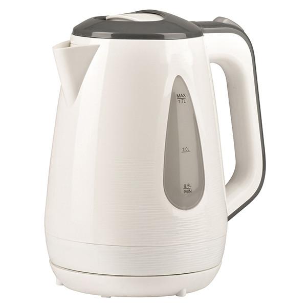 Чайник Maestro MR-031 (1.7 л, 2200 Вт) білий з сірим | електричний чайник Маестро, чайник Маестро