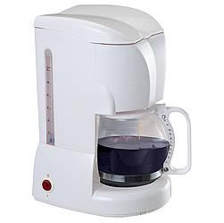 Кавоварка, крапельна MAESTRO MR-401 біла | кофемашина Маестро, Маестро (800 Вт, на 10-12 чашок, з