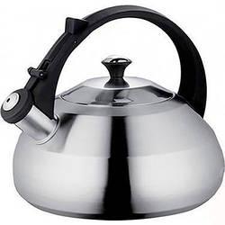 Чайник зі свистком з нержавіючої сталі Maestro MR-1327 (3 л)   металевий чайник Маестро, Маестро