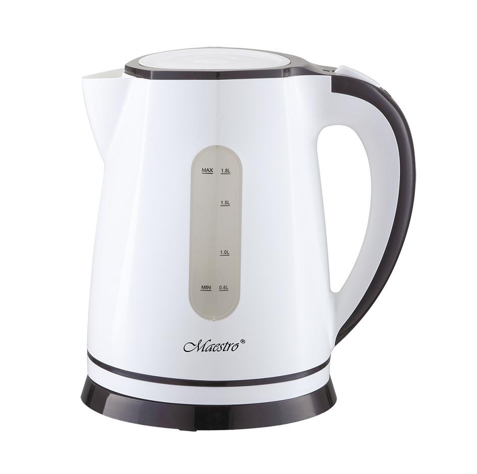 Чайник Maestro MR-058 білий (1.8 л, 2000 Вт)   електричний чайник Маестро, Маестро