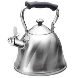 Чайник для плиты со свистком Maestro MR-1305 серебрянный 3,0 л