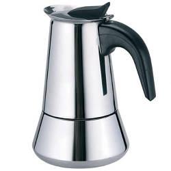 Гейзерна кавоварка з нержавіючої сталі Maestro MR-1660-2 на 2 чашки турка Маестро, Маестро