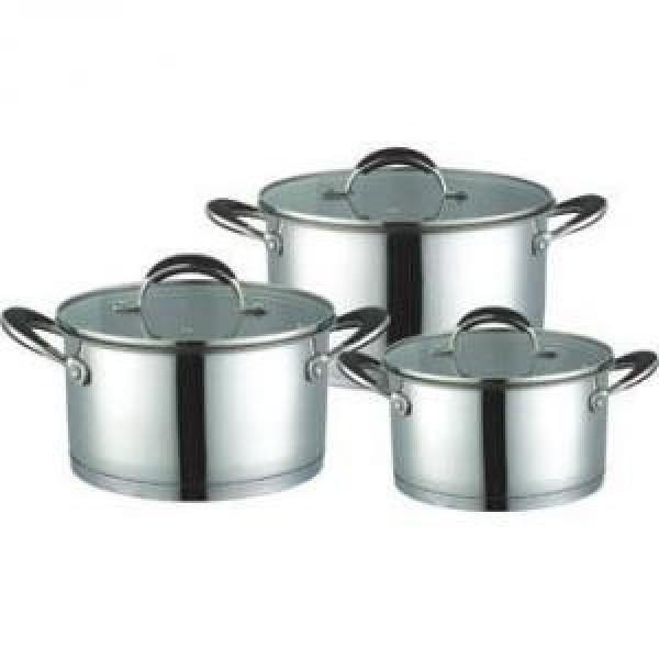 Набор кухонной посуды нержавеющая сталь Maestro MR-3502 6 предметов
