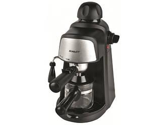 Кофеварка экспрессо рожковая Scarlett SC-037 мощность 800 Вт объем 0,2 л