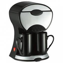 Кофеварка с двумя чашками капельная Maestro MR-404 мощность 600 Вт