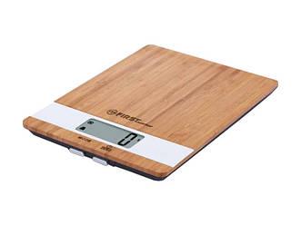 Весы кухонные электронные с точностью измерения 1 грамм First FA-6410 максимальный вес 5 кг