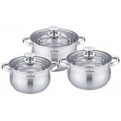 Набір посуду Maxmark MK-BL2506B 6 предметів