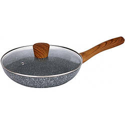 Сковорода звичайна Maxmark MK-FP4524M 24 см мармурове покриття