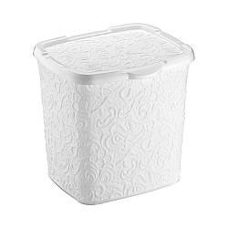 Контейнер для порошку Ажур Elif 383-1 білий