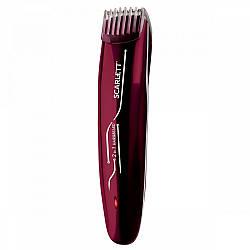 Машинка для стрижки по догляду за волоссям, бородою та вусами Scarlett SC-HC63C65 з насадками від мережі або