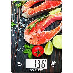 Весы кухонные электронные Scarlett SC-KS57P37 максимальный вес 10 кг