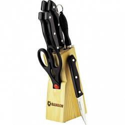 Набір ножів з нержавіючої сталі на підставці MAESTRO MR-1402 (8 пр) | кухонний ніж Маестро | ножі Маестро