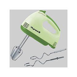 Міксер ViLgrand VHM25011 Green потужність 250 Вт 7 швидкостей 2 насадки