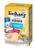 Беллакт каша суха молочна гарбузова-рисова 200 гр з 6 міс